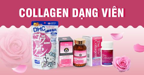 Collagen dạng viên uống Nhật Bản