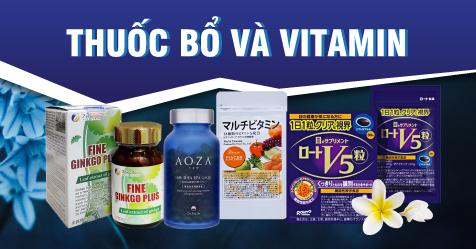 Thuốc bổ và Vitamin