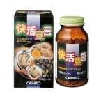 Tinh chất hàu tươi, tỏi, nghệ 180 viên Orihiro - Giải độc gan, bổ dương
