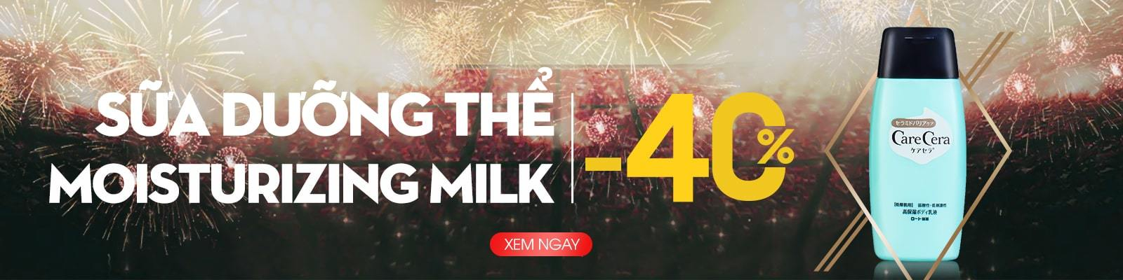 Sữa dưỡng thể dưỡng ẩm Care Cera Moisturizing Milk