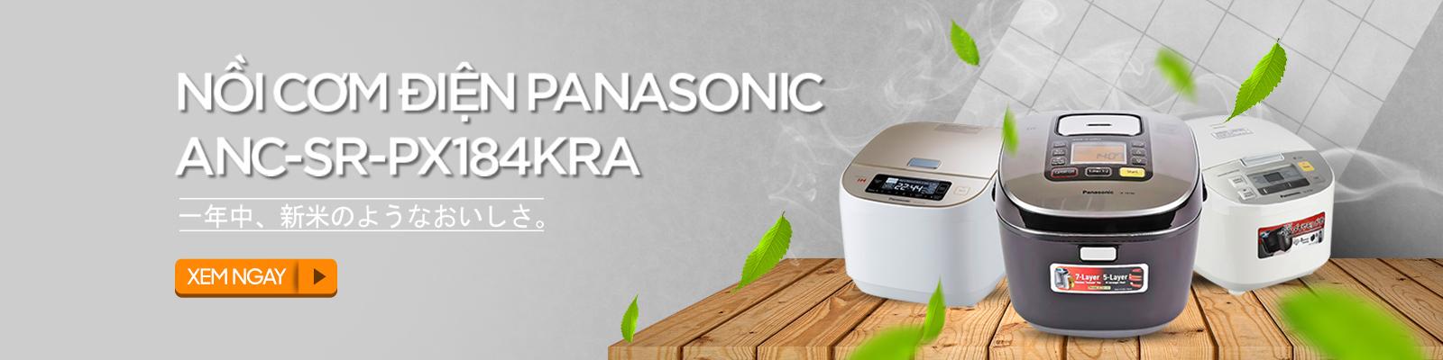 Nồi cơm điện tử cao tần Panasonic ANC-SR-PX184KRA
