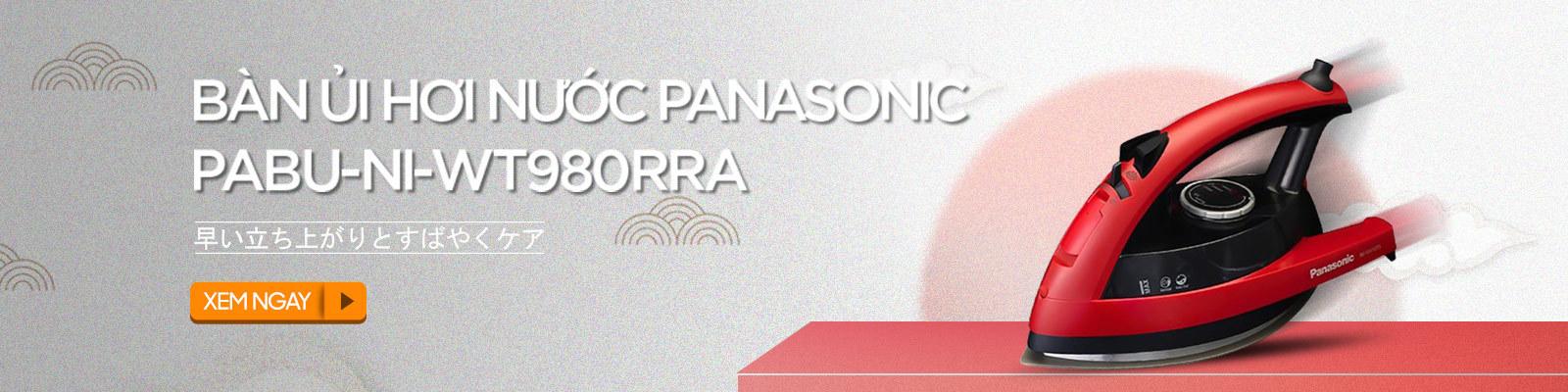 Bàn ủi hơi nước Panasonic PABU-NI-WT980RRA 2800W