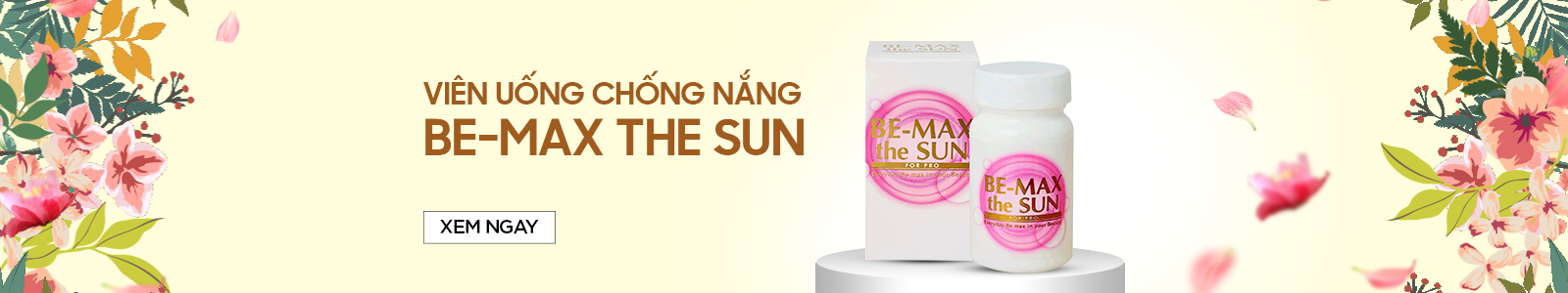 Viên uống chống nắng Be-Max The Sun 30 viên