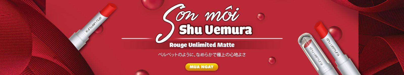 Son môi Shu Uemura Rouge Unlimited Matte 3.4g