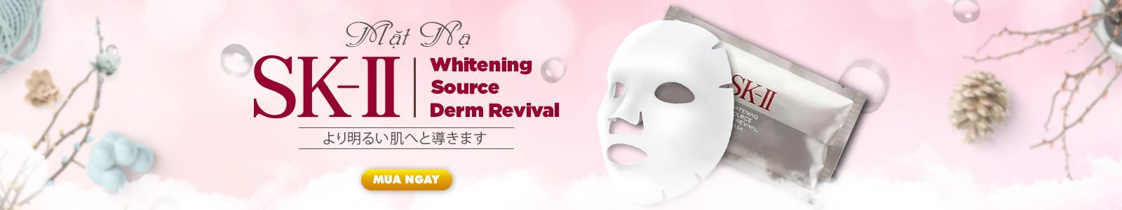 Mặt nạ trắng da SK-II Whitening Source Derm Revival 1 miếng