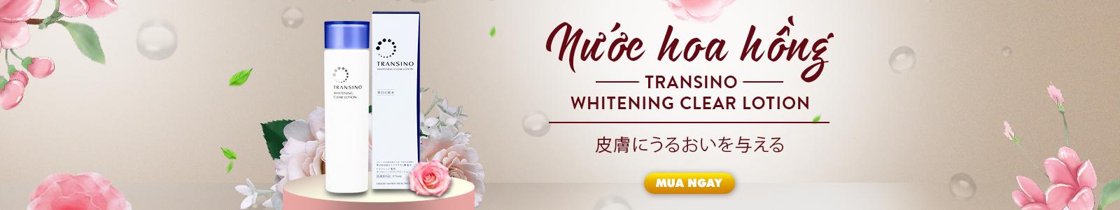 Nước hoa hồng Transino Whitening Clear Lotion - 175ml