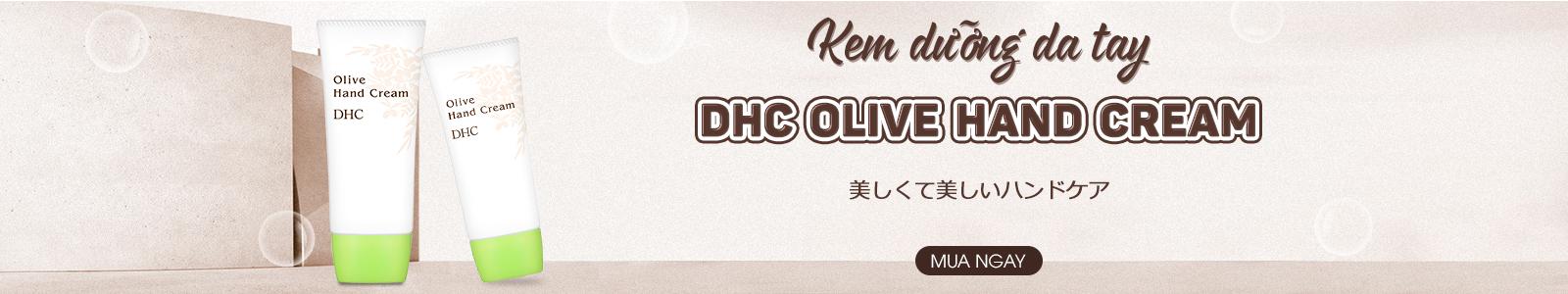 Kem dưỡng da tay DHC Olive Hand Cream 55g