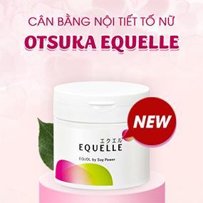 Viên uống cân bằng nội tiết tố nữ Otsuka Equelle 112 viên