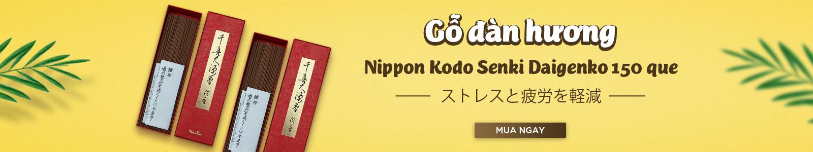 Gỗ đàn hương Nippon Kodo Senki Daigenko 150 que