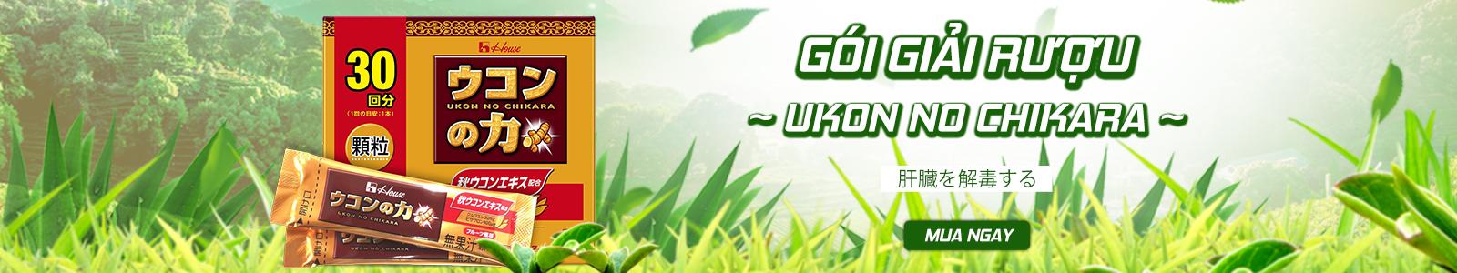 Gói giải rượu Ukon No Chikara