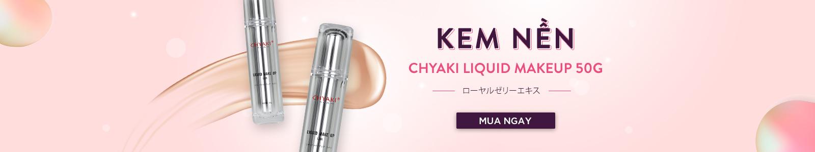 Kem nền Chyaki Liquid Makeup 50g