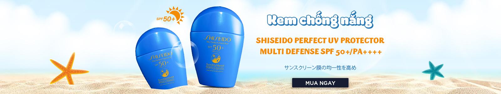 Kem chống nắng Shiseido Perfect UV Protector Multi Defense