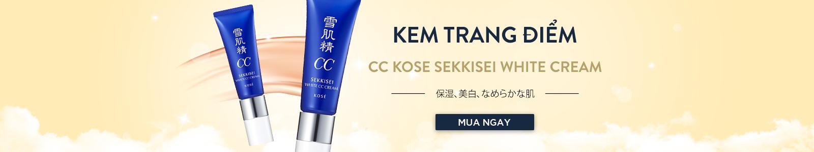 Kem trang điểm CC Kose Sekkisei White Cream