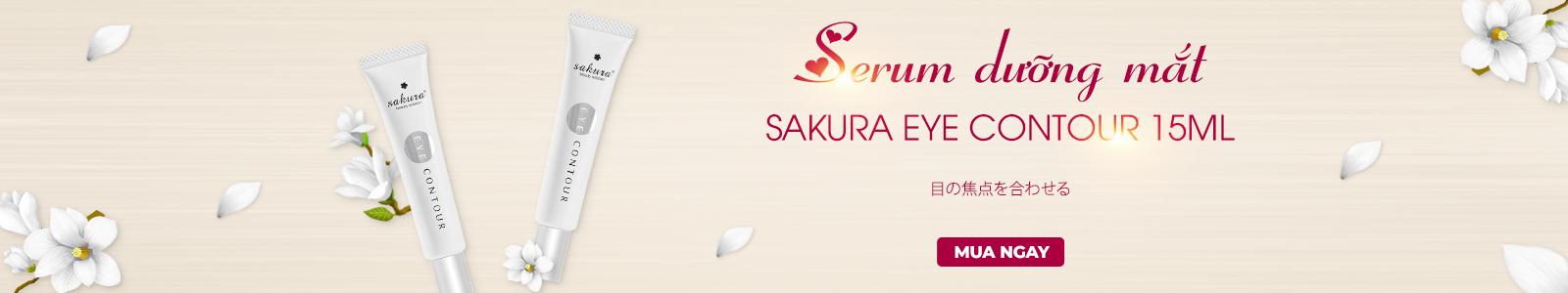 Serum dưỡng mắt Sakura Eye Contour
