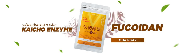Viên uống giảm cân Enzyme Fucoidan Kaicho