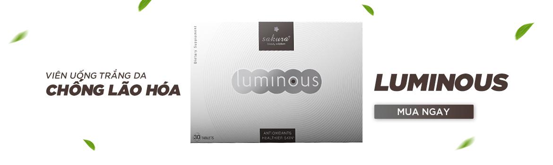 Viên uống trắng da Luminous