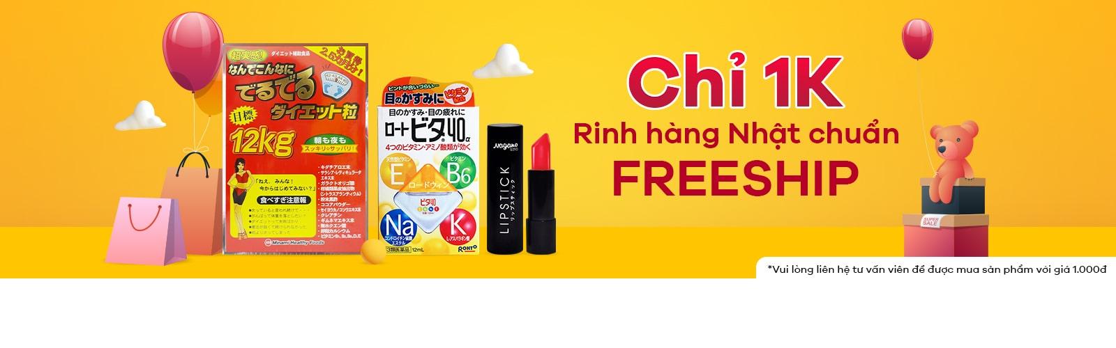 Deal 1k Rinh Hàng Nhật