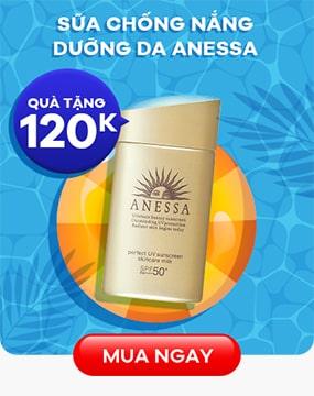 Sữa chống nắng dưỡng da Anessa