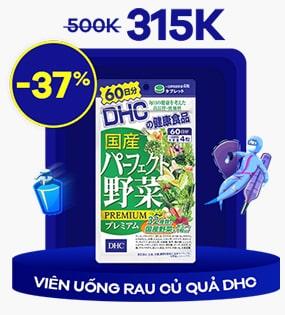 Viên uống rau củ quả DHC