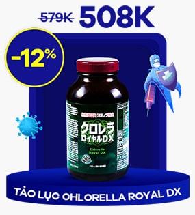 Tảo lục hoàng gia Chlorella Royal DX