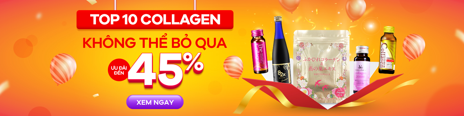 Top Collagen Giảm Đến 45%