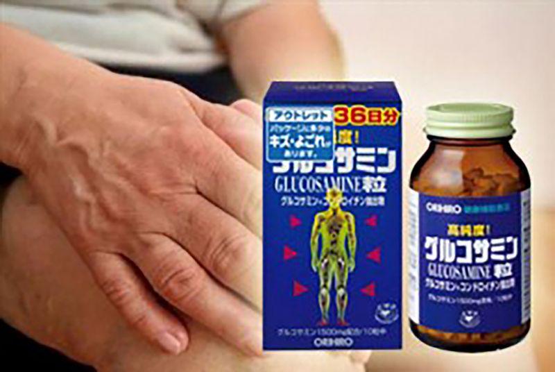 viên uống trị khớp Glucosamine: