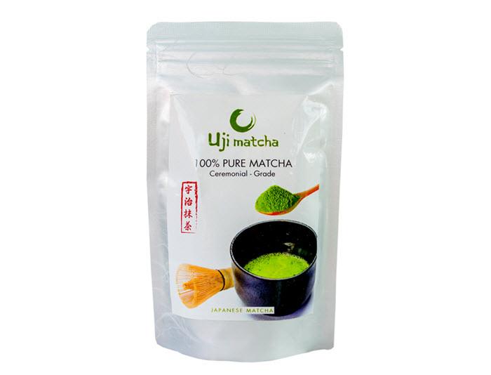 Combo 2 gói bột trà xanh Uji Matcha Ceremonial 100g