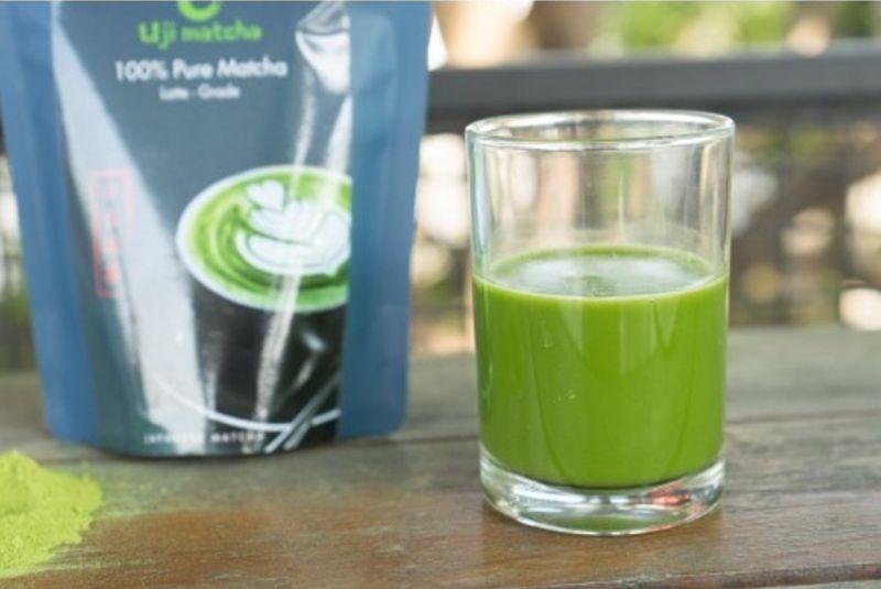 Bột trà xanh Uji Matcha Latte Grade ( 90 g)