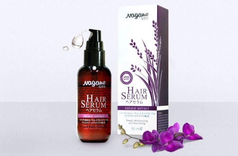 Serum dưỡng bóng tóc Nagano (50ml)