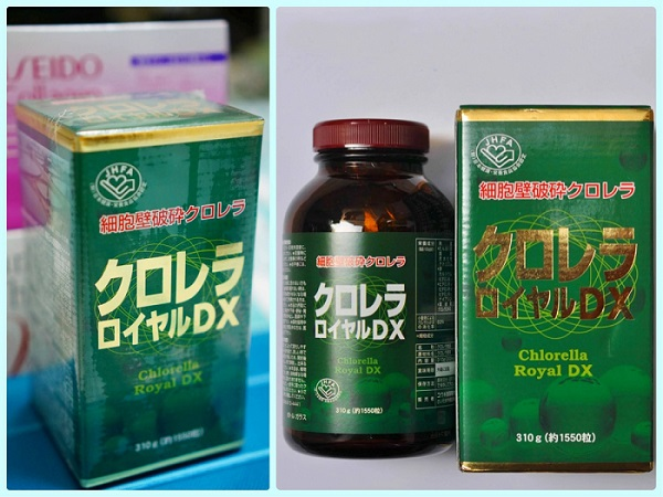 Tảo lục hoàng gia Nhật Bản Chlorella Royal DX