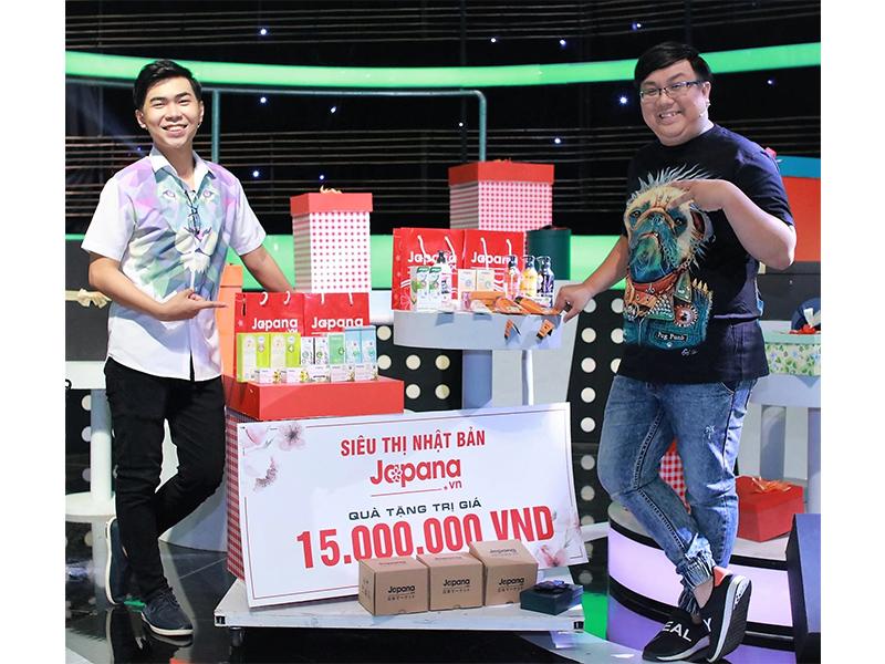 Diễn viên hài Minh Dự và Gia Bảo rất tin dùng sản phẩm của Siêu Thị Nhật Bản Japana