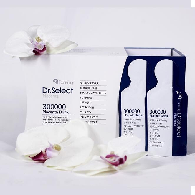 Dr. Select Placenta Drink bổ sung đến 300000mg
