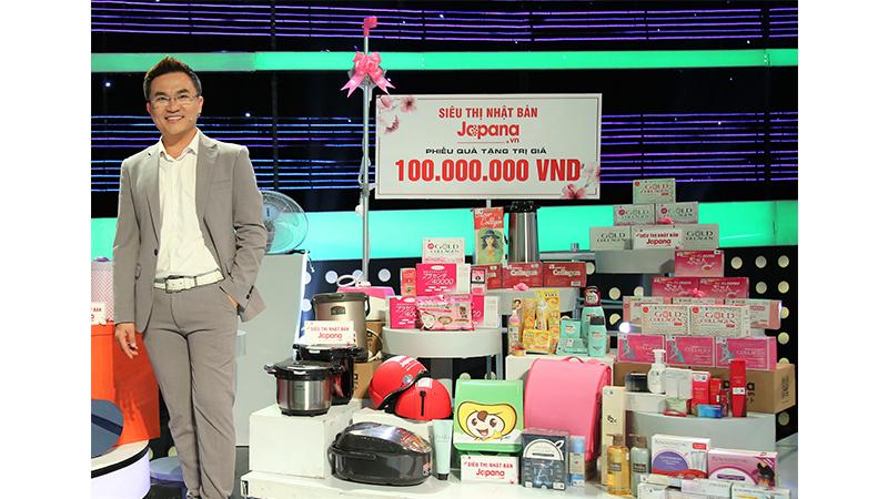 MC Đại Nghĩa rất tin dùng các sản phẩm của Siêu Thị Nhật Bản Japana