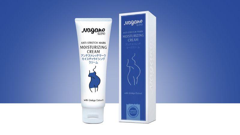 Kem chống rạn da Nagano Anti Stretch Mark Moisturizing Cream 100ml