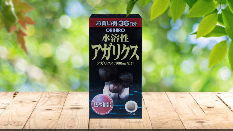Nấm Agaricus Matsutake 432 viên Orihiro