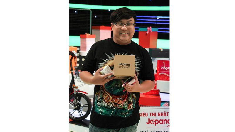 Diễn viên hài Gia Bảo là khách hàng thân thiết của Siêu Thị Nhật Bản Japana
