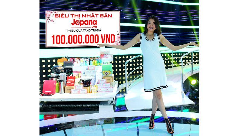 Ca sĩ Tiêu Châu Như Quỳnh rất yêu thích và tin dùng sản phẩm của Siêu Thị Nhật Bản Japana