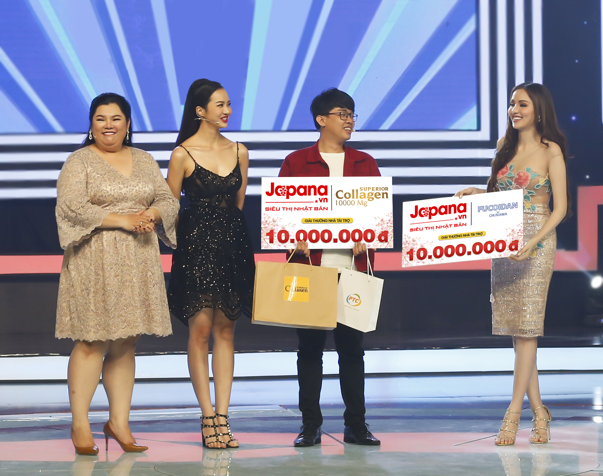 Shiseido là thương hiệu yêu thích của diễn viên Tuyền Mập và 2 hoa hậu Kiều Ngân, Diễm Hương