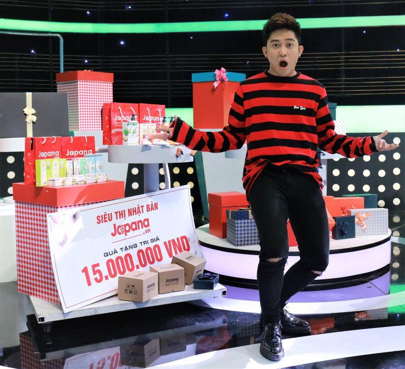 Diễn viên - MC Trương Quốc Bảo luôn tin dùng các sản phẩm đến từ Siêu Thị Nhật Bản Japana