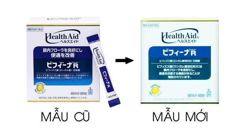 Bột men vi sinh sống HealthAid Bifina R 60 gói