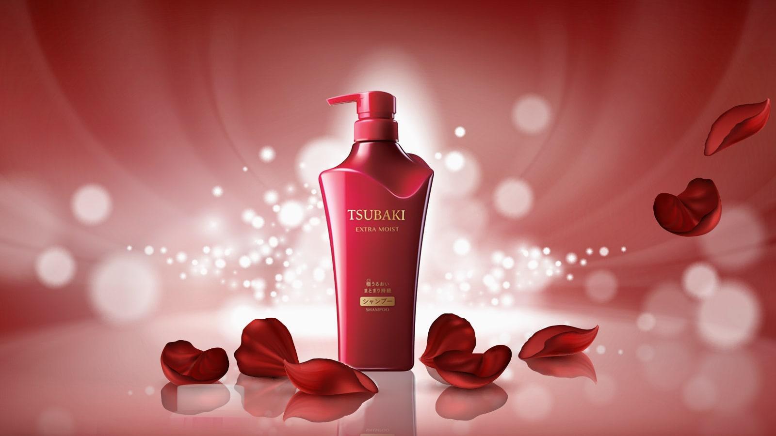 Dầu gội siêu cấp ẩm Shiseido Tsubaki Extra Moist 500ml
