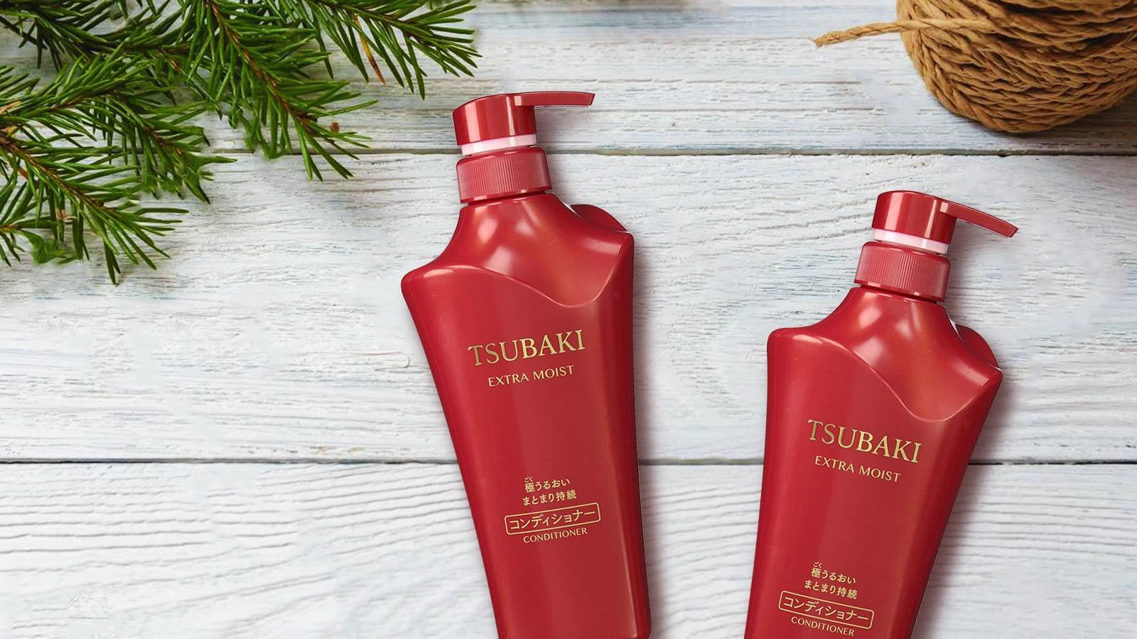Dầu xả siêu cấp ẩm Shiseido Tsubaki Extra Moist 500ml