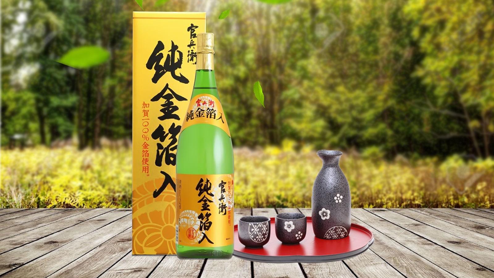 Rượu Sake Kinryu No mai Junkinpakuiri 15.3% 1.8L