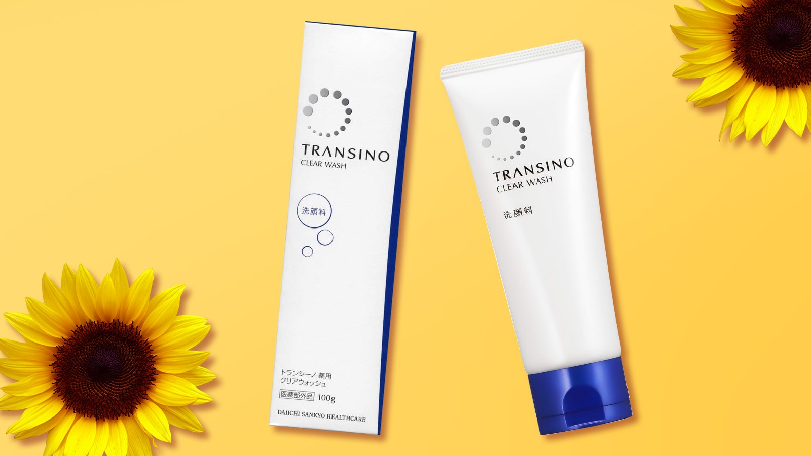 Sữa rửa mặt trắng da trị nám Transino Clear Wash 100g