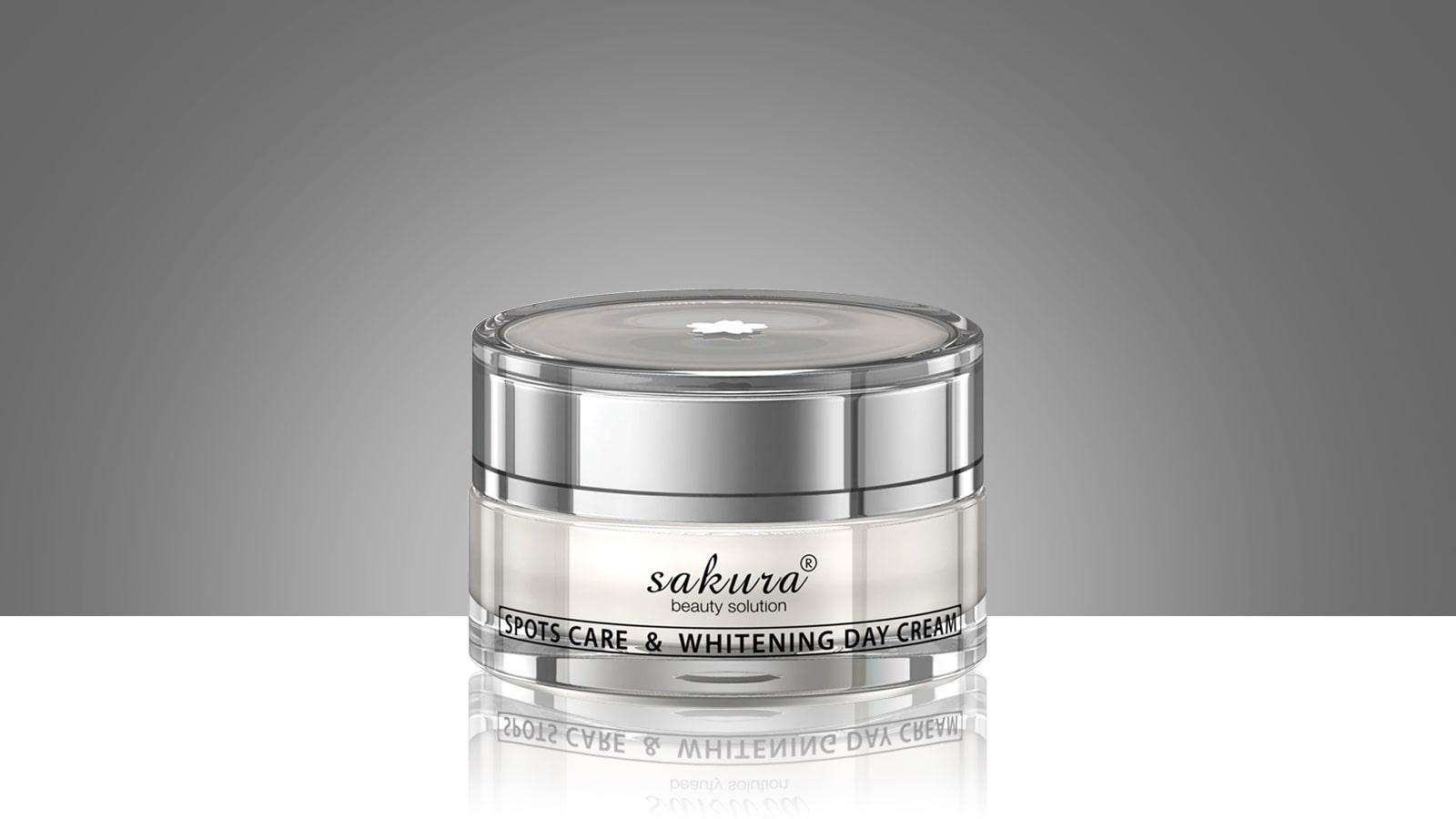 Kem dưỡng trắng da trị nám ban ngày Sakura Spot Care & Whitening Day Cream 30g