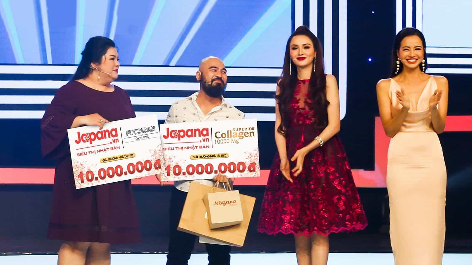 Hoa hậu Diễm Hương, Kiều Ngân cùng diễn viên hài Tuyền Mập là khách hàng thân thiết của Siêu Thị Nhật Bản Japana