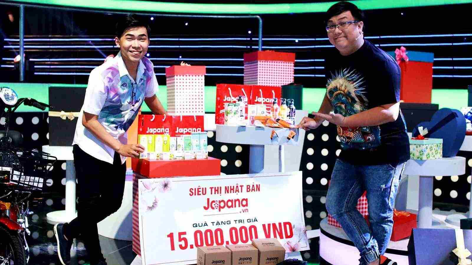 Nghệ sĩ hài Gia Bảo và Minh Dự là khách hàng thân thiết của Siêu Thị Nhật Bản Japana