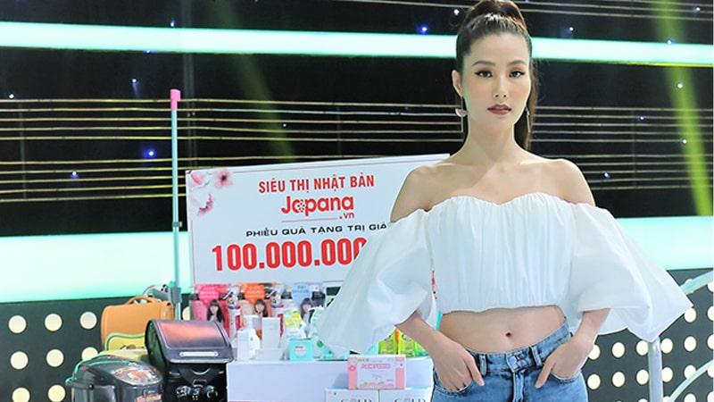 Diễn viên, người mẫu Diễm My 9x đã tin dùng sản phẩm của Siêu Thị Nhật Bản Japana