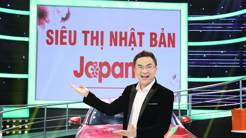 MC Đại Nghĩa cũng là khách hàng thân thiết của Siêu Thị Nhật Bản Japana