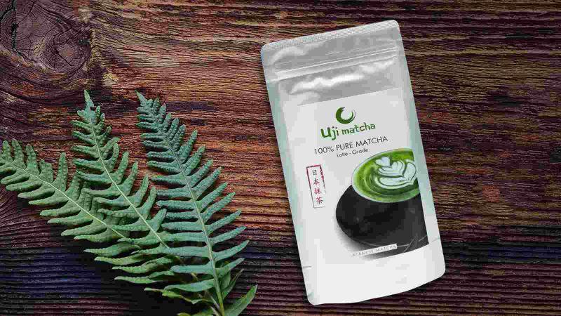 Bột trà xanh Uji Matcha Latte Grade Nhật Bản 100g